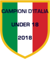 New Black Panthers - Campioni d'Italia - Under 18 - 2018